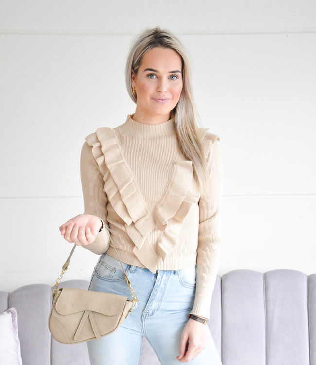 Famke sweater beige