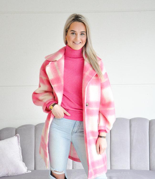 Romee coat pink