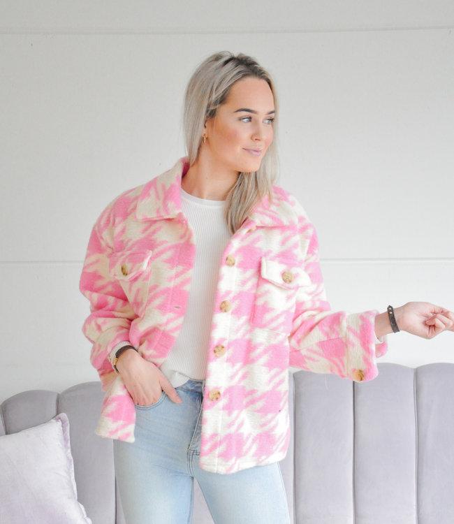 Loes jacket light pink