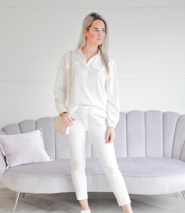 Claire set white