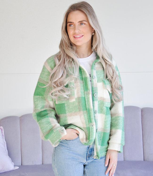 Amber jacket green