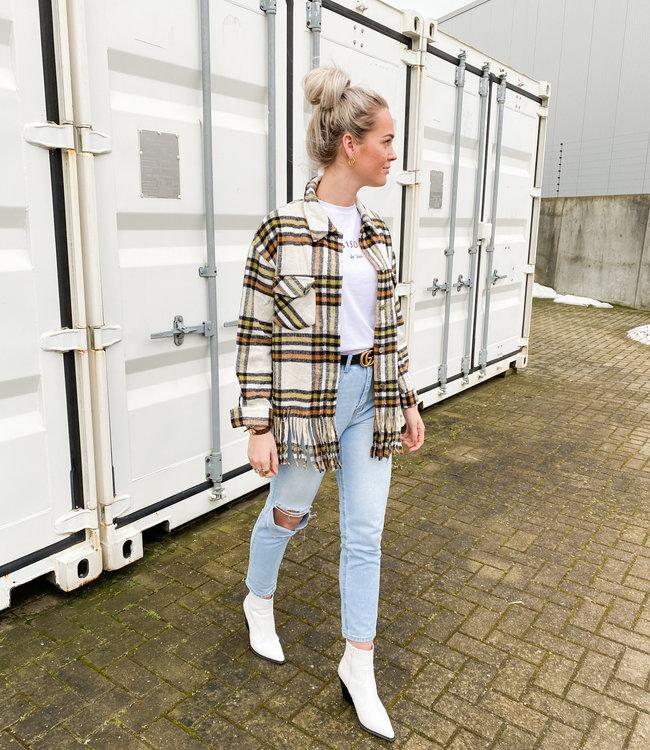 Marie jacket white