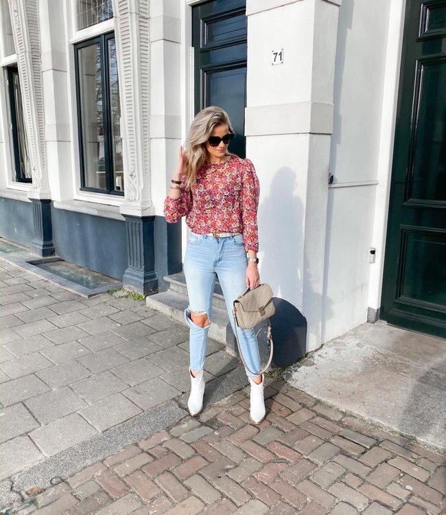 Janie blouse pink