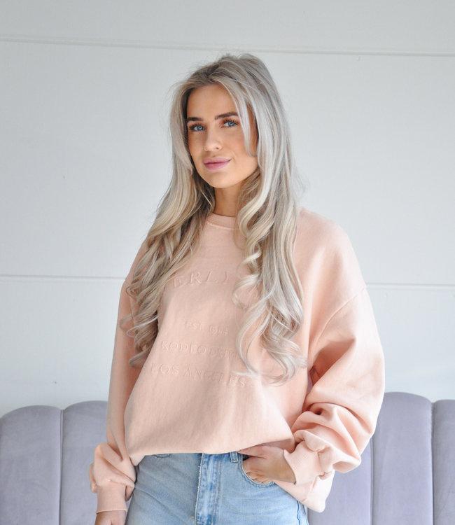 Beverly sweater peach