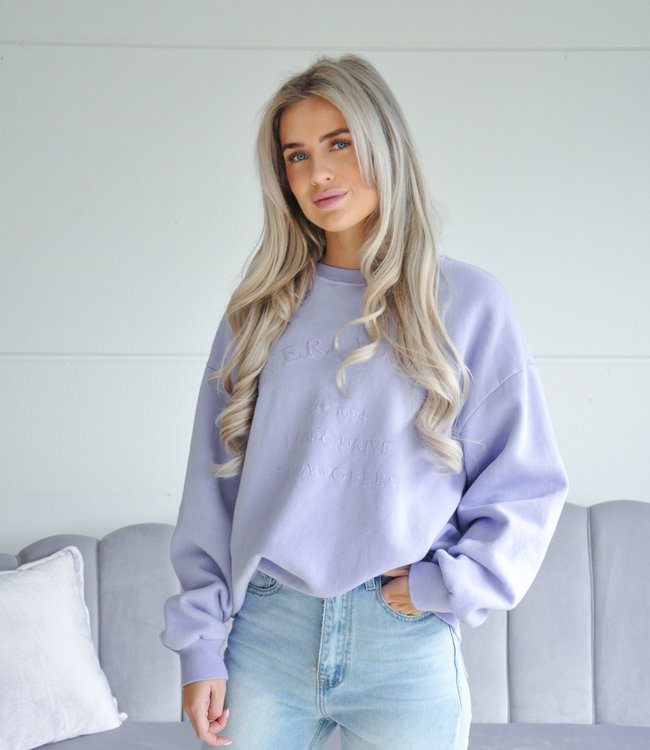 Beverly sweater lila