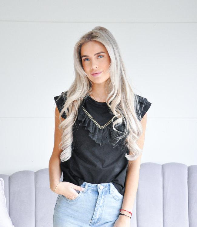 Lea tee black