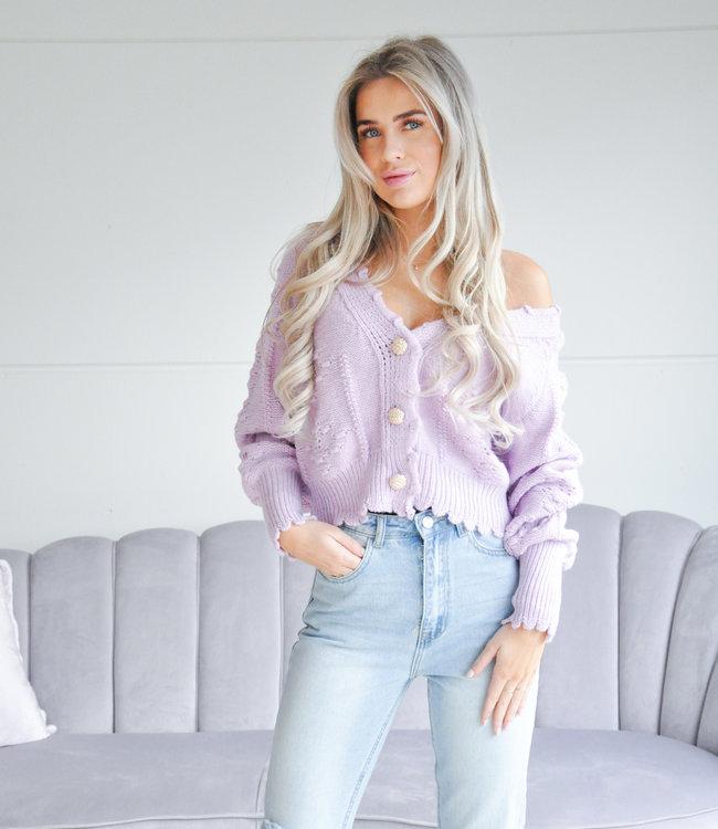 Lucy vest lila