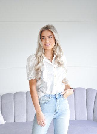 Maxime blouse white