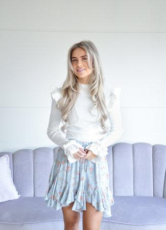 Lydia skirt blue