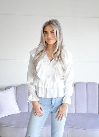 Sanna blouse white