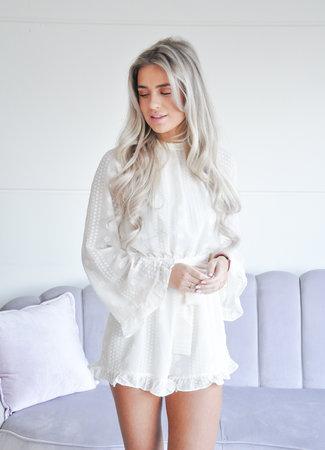 Gina playsuit beige