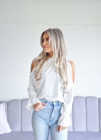 Meg blouse white