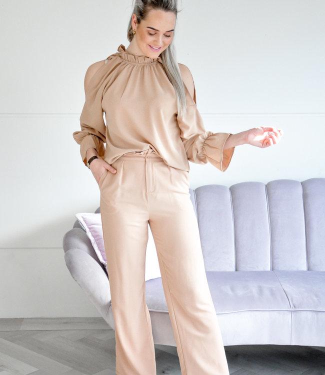 Megie pants beige
