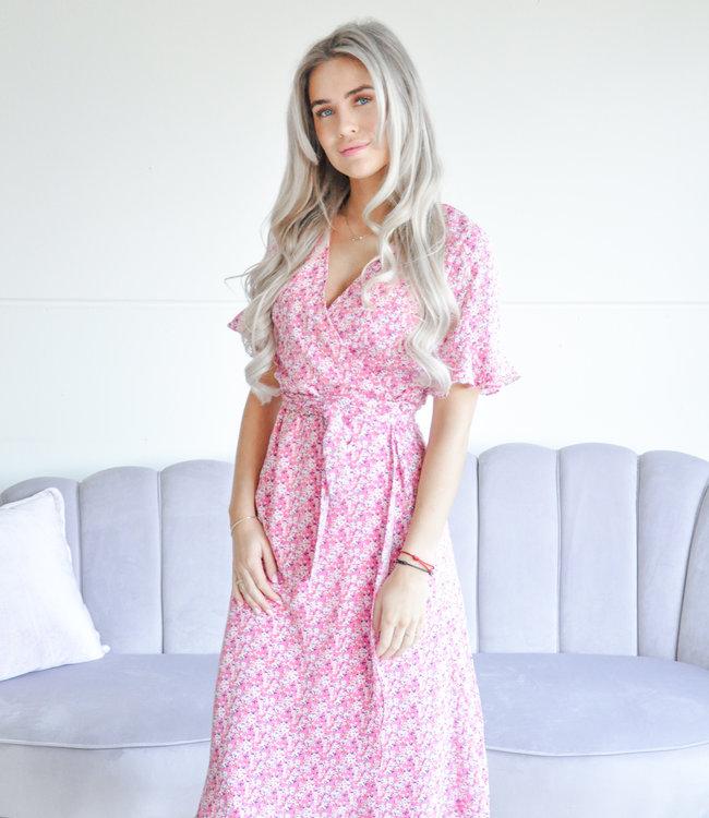 Dreamer maxi dress pink