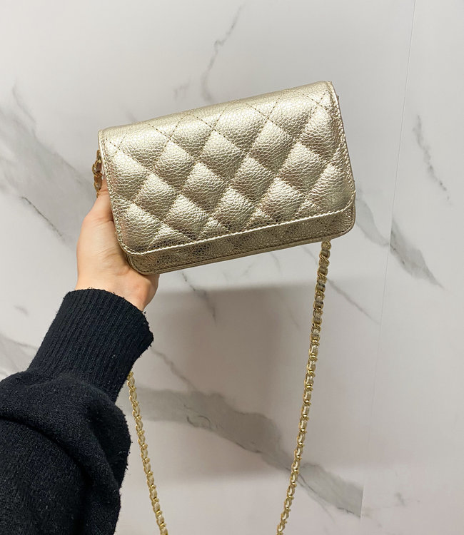 Carrie bag gold