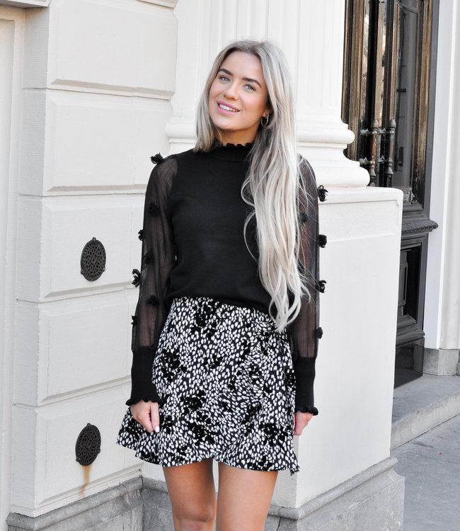 Yentl skirt black