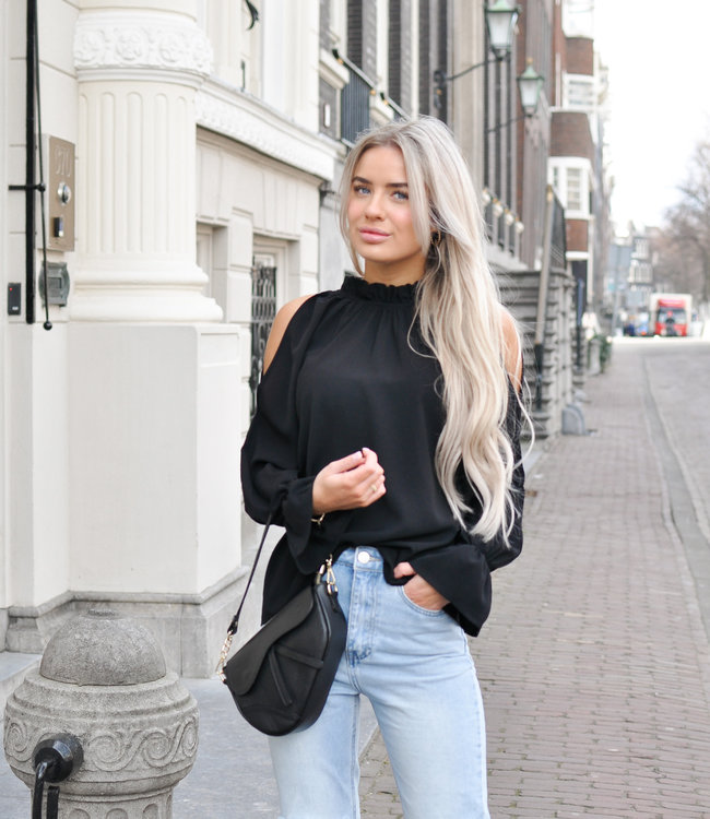 Meg blouse black