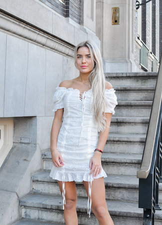 Kelly dress white