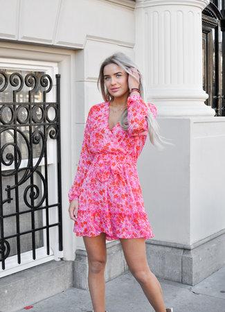 Novila dress pink