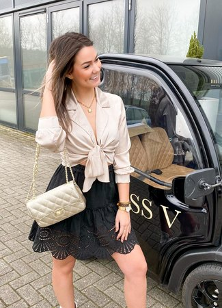 Charlie blouse champagne