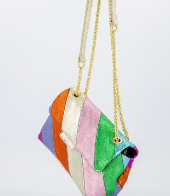 Rainbow bag large