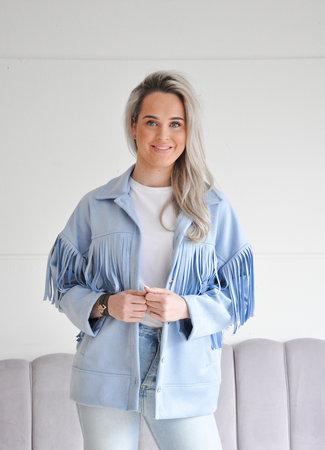 Gaby jacket blue