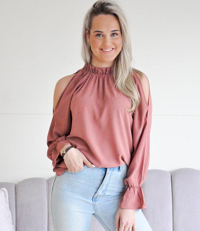 Meg blouse old pink
