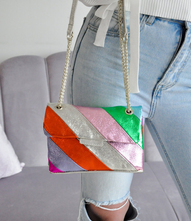 Rainbow bag small