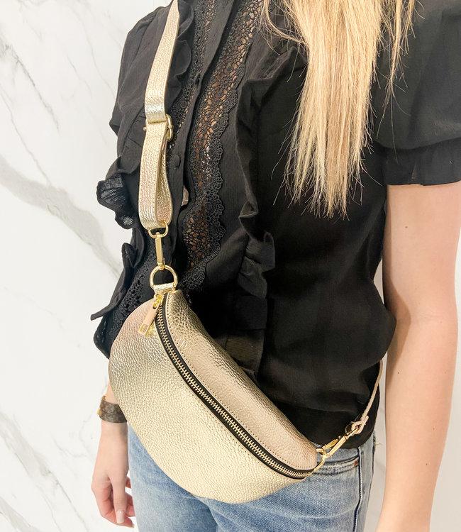 Zoe beltbag gold