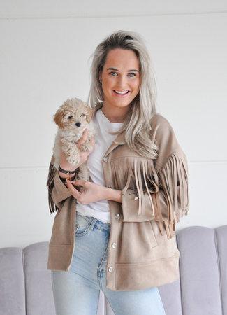 Gaby jacket camel