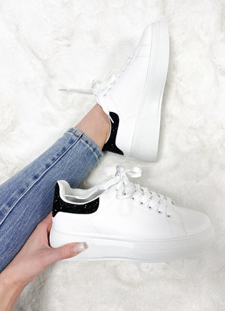 Alexie sneakers black glitter