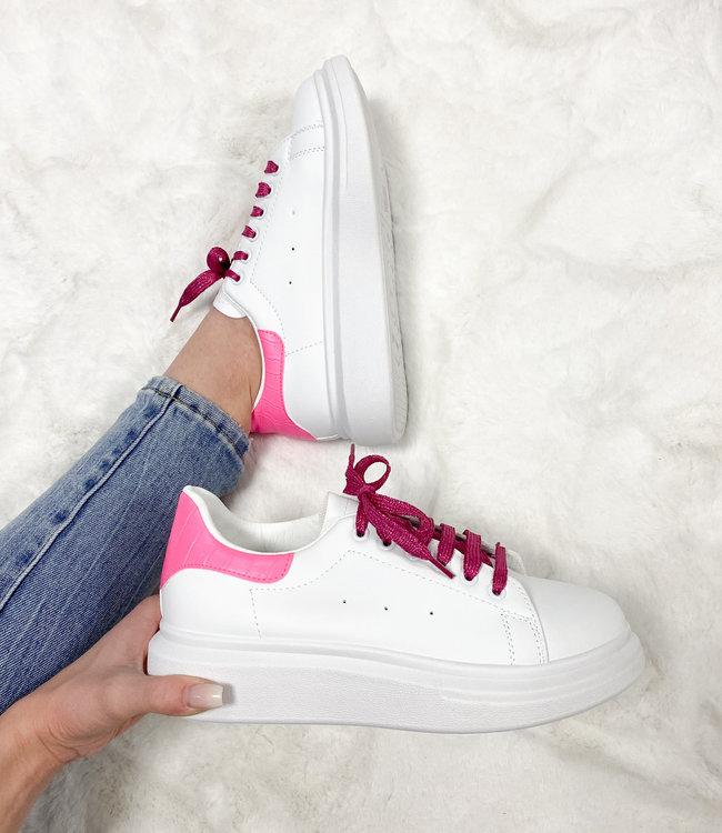 Alexie sneakers neon pink