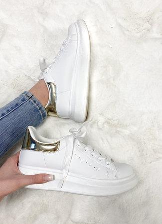 Alexie sneakers white gold