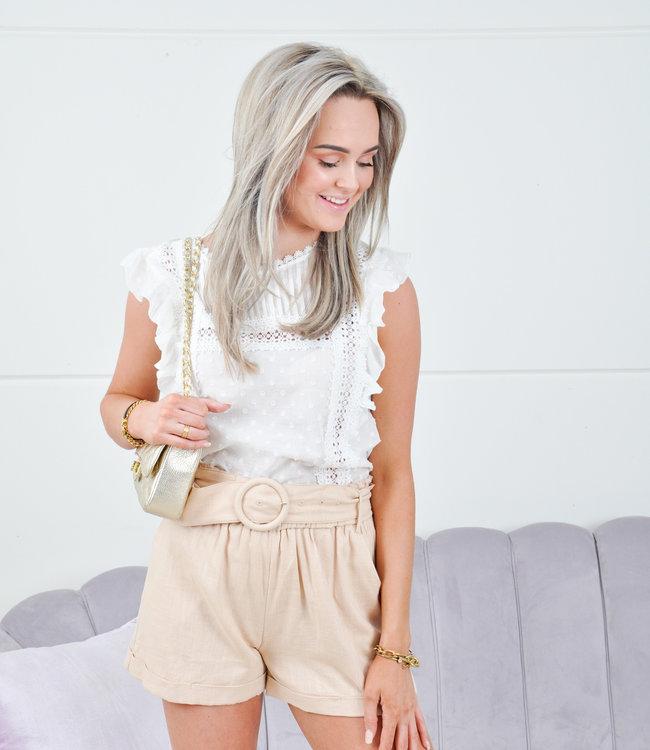 Sam short beige