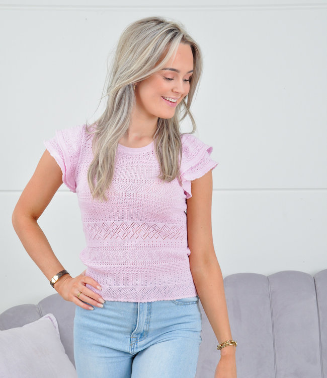 Rachel top pink