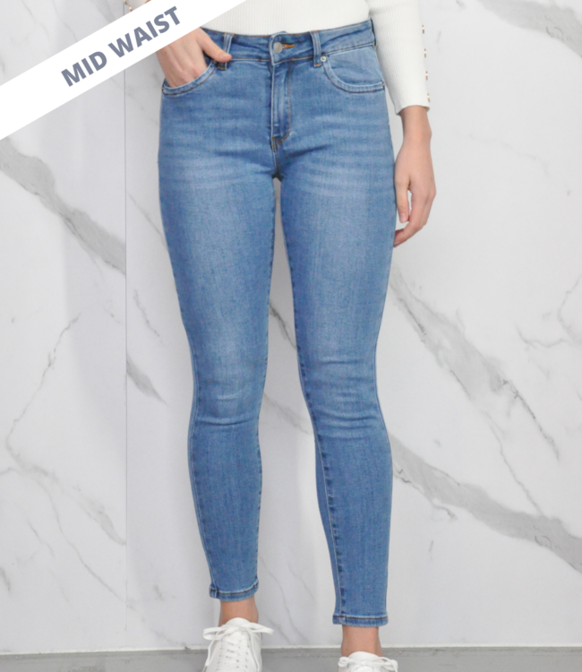 Floor jeans blue