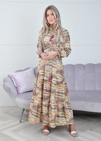 Lisa maxi dress