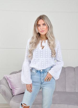 Manar blouse white