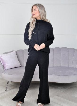 Kate comfy set black