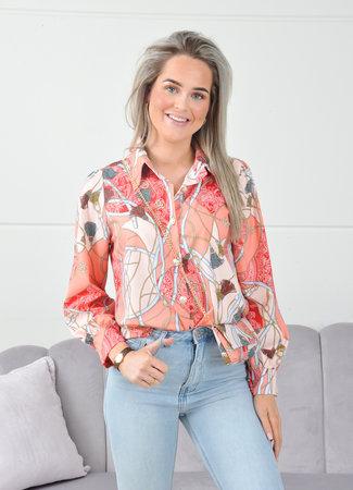 Noa blouse orange
