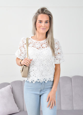 Elodie blouse white
