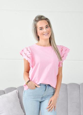 Lorie tee light pink