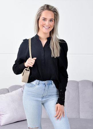 Laura blouse black