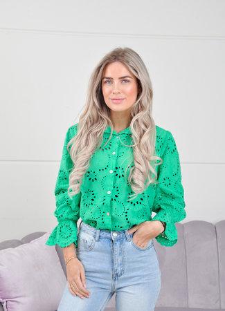 Gigi blouse green