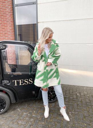 Isabelle coat green