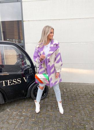 Isabelle coat lila