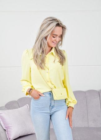 Lion blouse yellow