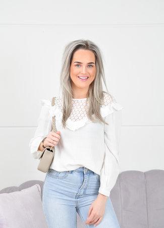 Rosanne blouse white