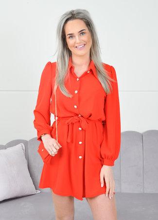 Ymke dress red