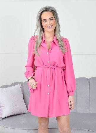 Ymke dress pink